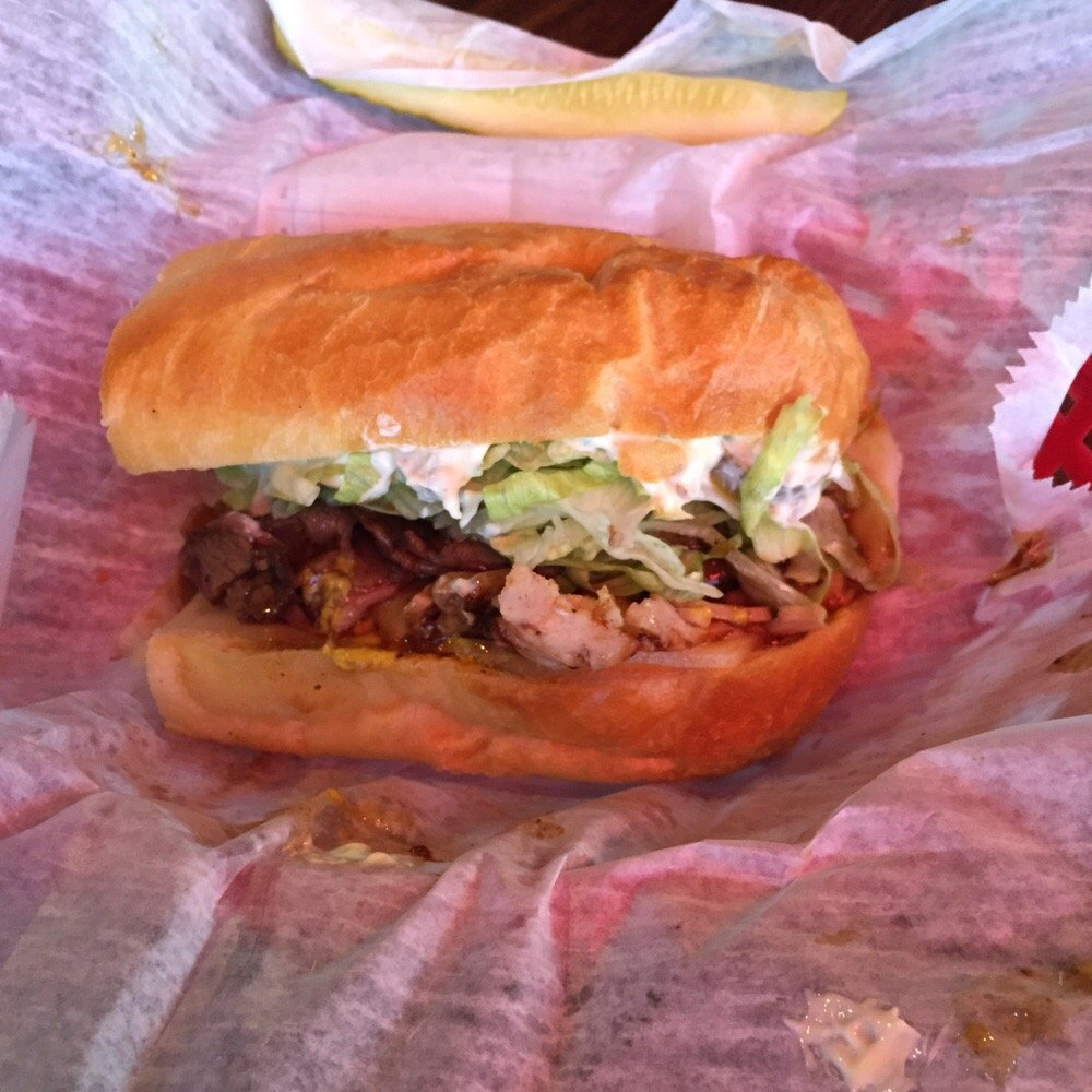 Darrell's Special Poboy in Lake Charles, Louisiana